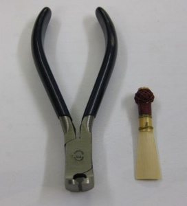 Cutting nippers for Bassoon reed - A/66a