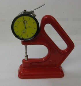 Dial-indicator of cane thickness - A/42