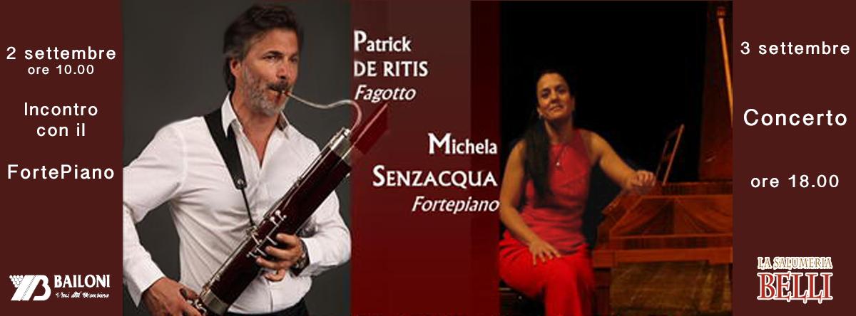 masterclass concerto fagotto fortepiano patrick de ritis michela senzacqua