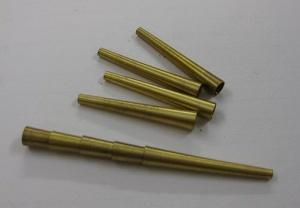Oboe baroque brass tube (43 mm) - T/339a