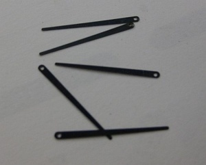 Plated springs set for Oboe - S/5a