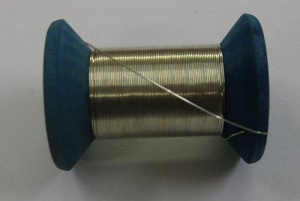Tined copper thread (25 m) 0,40 mm - A/47a