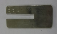 Tube cane diameter measuring tool - A/34